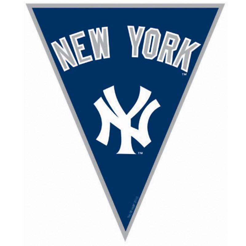 New York Yankees Baseball   12 Pennant Banner for the 2015 Costume season.