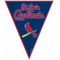 St. Louis Cardinals Baseball - 12' Pennant Banner