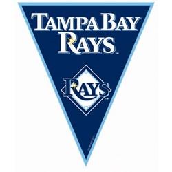 Tampa Bay Rays Baseball - 12' Pennant Banner