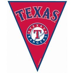 Texas Rangers Baseball - 12' Pennant Banner