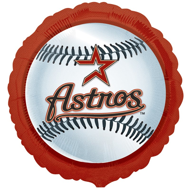 Houston Astros Baseball   Foil Balloon for the 2015 Costume season.