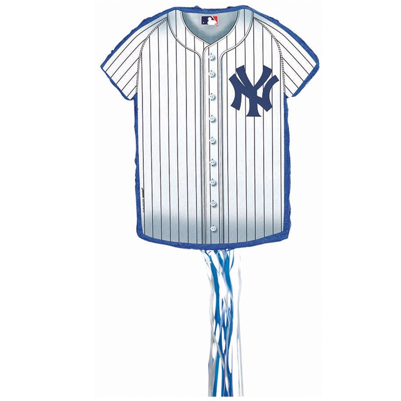 New York Yankees Baseball   Shirt Shaped Pull String Pinata for the 2015 Costume season.