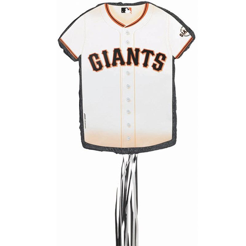 San Francisco Giants Baseball   Shirt Shaped Pull String Pinata for the 2015 Costume season.
