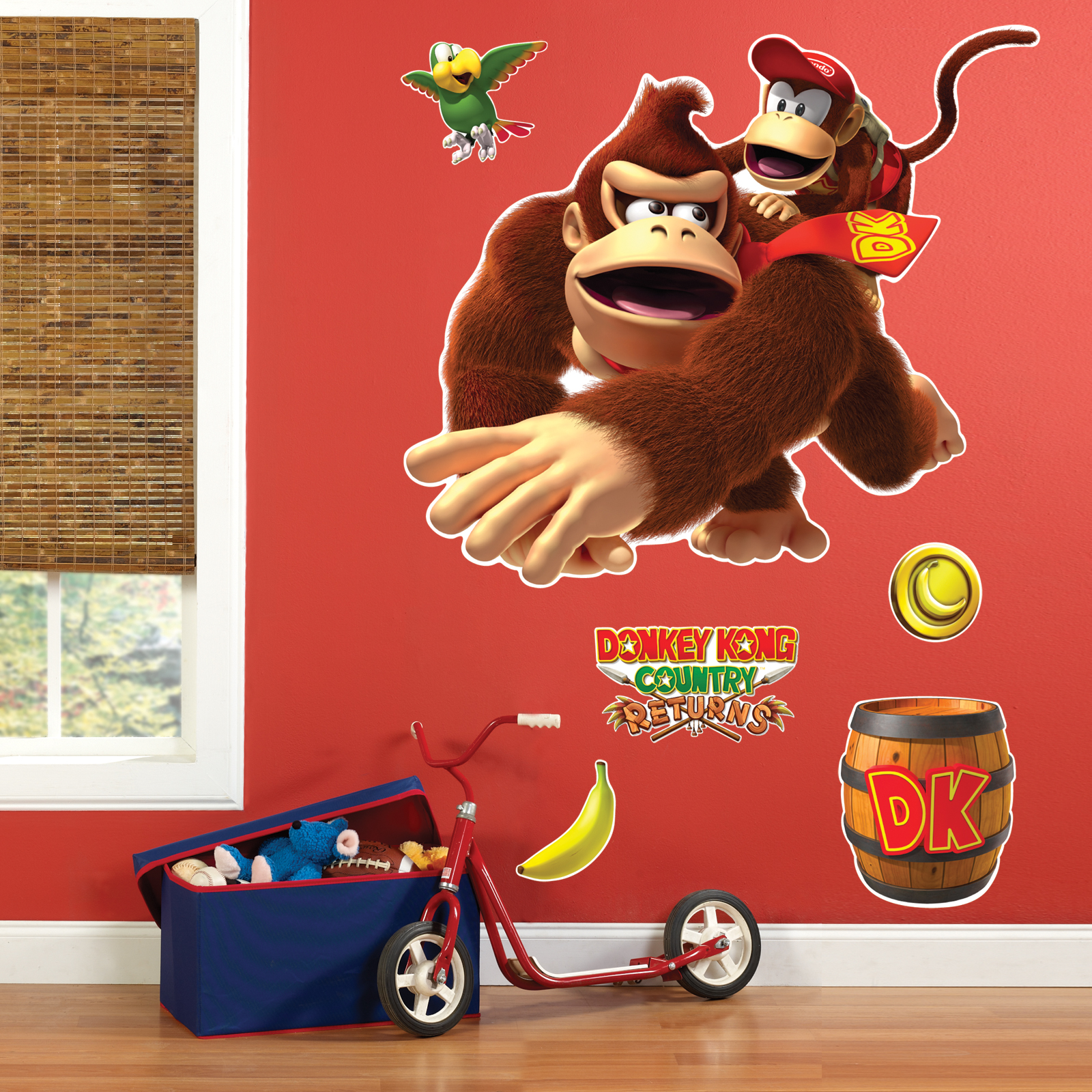 Donkey Kong Giant Wall Decals eBay