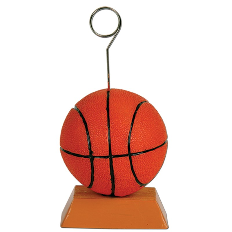Basketball Balloon Weight  and  Photo Holder for the 2015 Costume season.