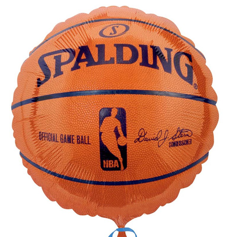 Spalding Basketball   Foil Balloon for the 2015 Costume season.