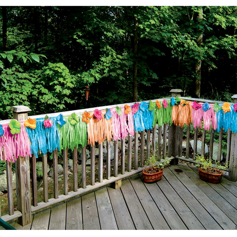 Floral Paradise Multi Colored Deck Fringe for the 2015 Costume season.