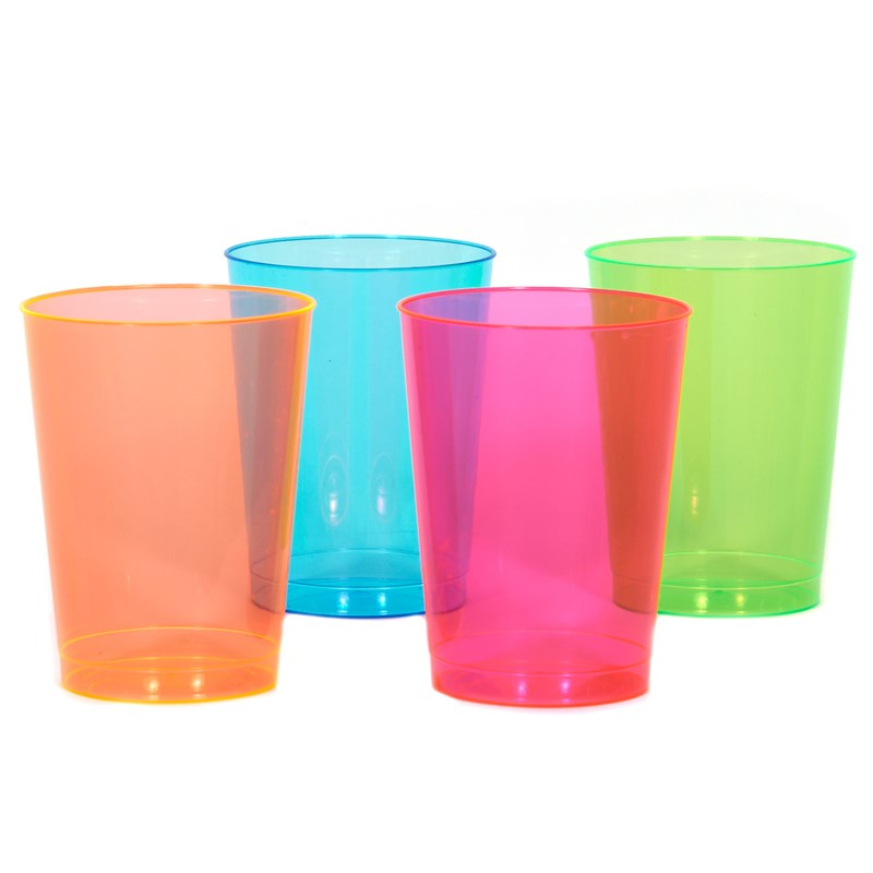 Neon 10 oz. Tall Tumblers Assorted (50 count) for the 2015 Costume season.