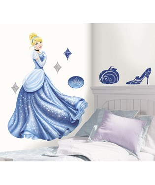 Cinderella Giant Peel and Stick Wall Decals