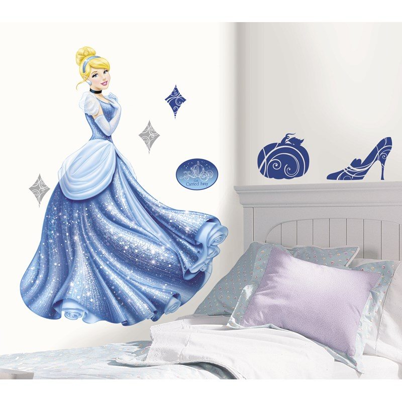 Cinderella Giant Peel and Stick Wall Decals for the 2015 Costume season.