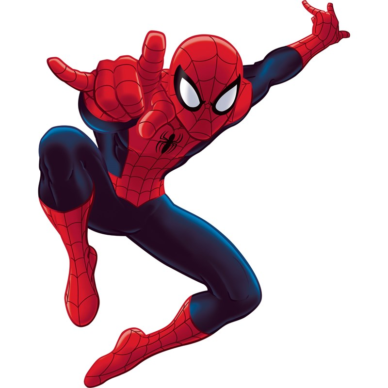 The Amazing Spider Man Peel and Stick Giant Wall Decals for the 2015 Costume season.