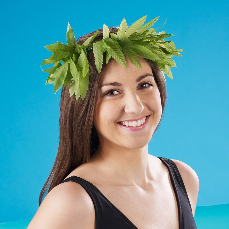 Tropical Fern Leaf Headband for the 2015 Costume season.