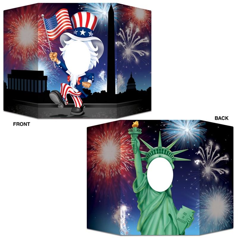 Patriotic Photo Prop for the 2015 Costume season.