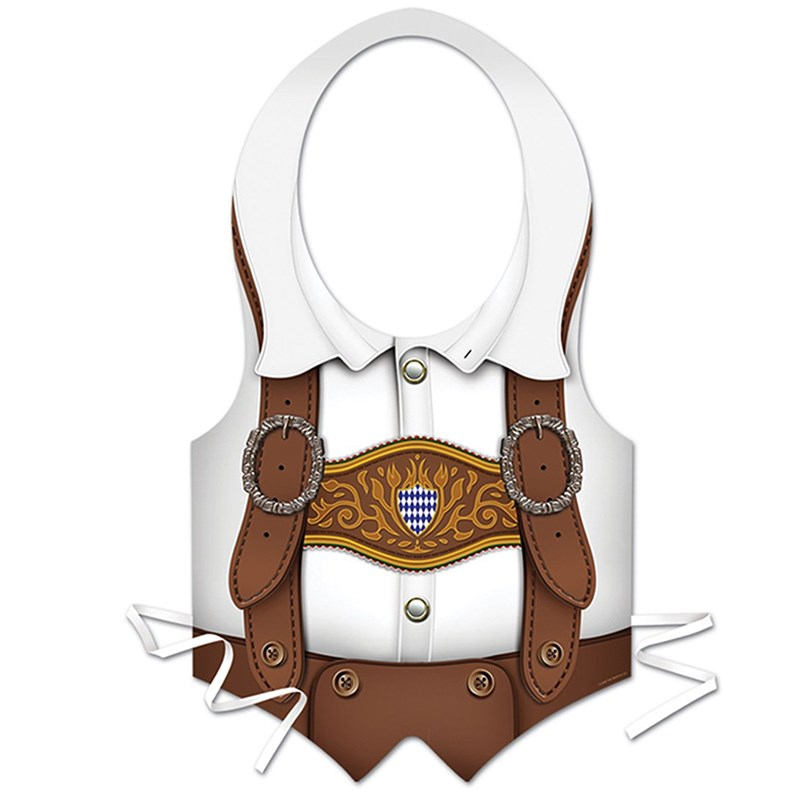 Oktoberfest   Plastic Vest for the 2015 Costume season.