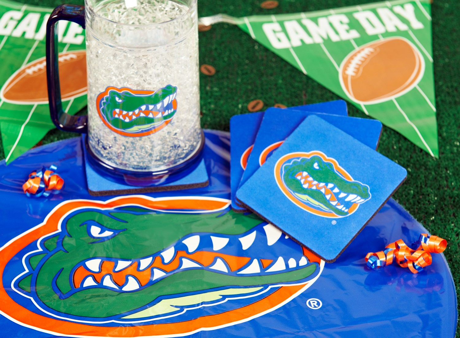 Image of Florida Gators College Deluxe Party Kit