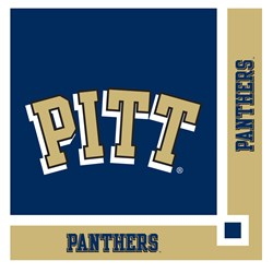 Pittsburgh Panthers - Beverage Napkins (20 count)