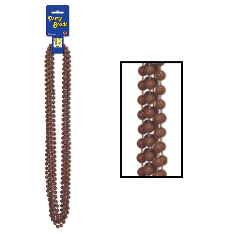 Party Beads   Brown (12 count) for the 2015 Costume season.