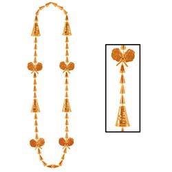 Cheerleading Beads - Orange