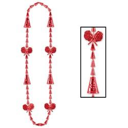 Cheerleading Beads - Red