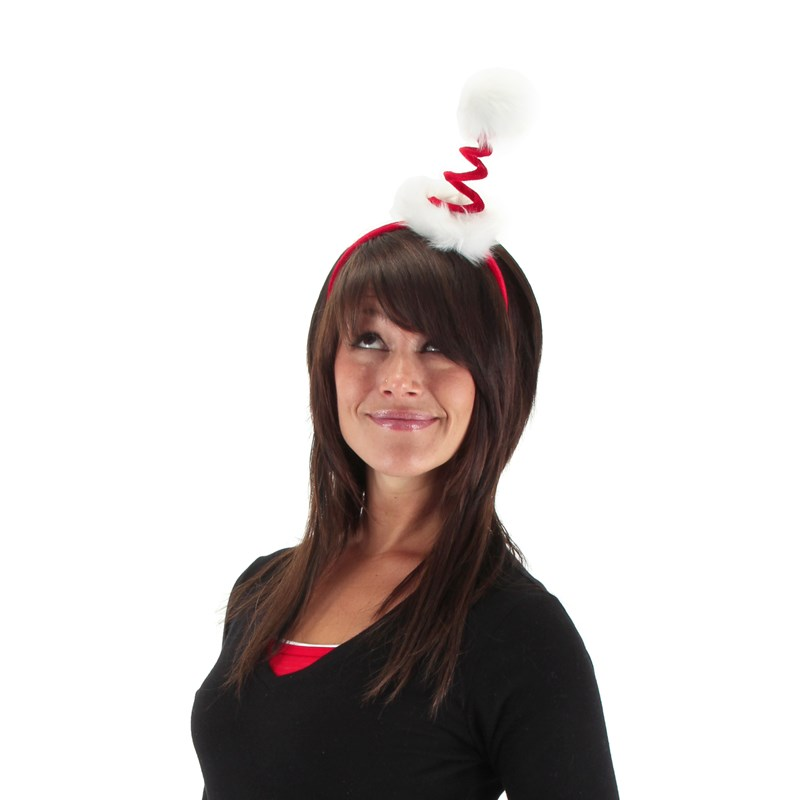 Cocktail Springy Santa Headband for the 2015 Costume season.