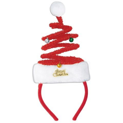 Springy Santa Headband