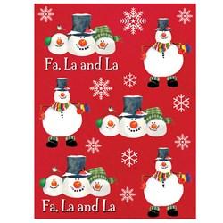 Christmas Snowman Carols - Sticker Sheets (4 count)