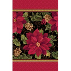 Christmas Holiday Enchantment - Plastic Tablecover