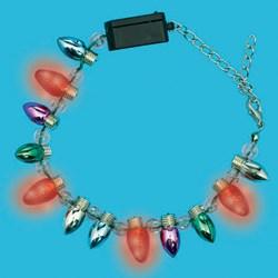 Christmas Bulb Light Up Bracelet