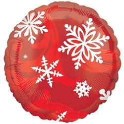 Christmas Elegant Entertaining Red 18 Foil Balloon