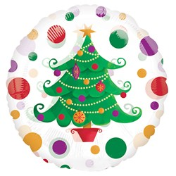 Christmas Tree Magicolor 18 Foil Balloon