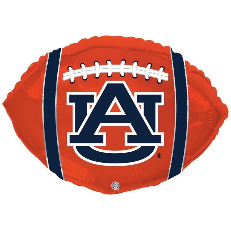 "Auburn Tigers - 18"" Foil Football Balloon"