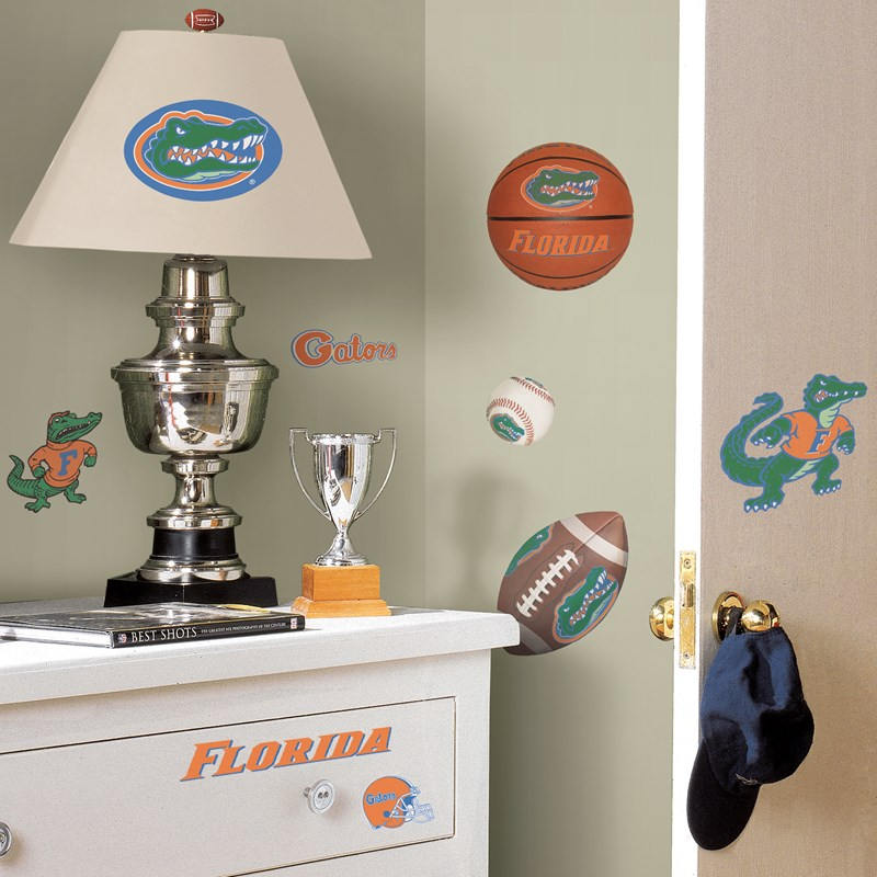 Florida Gators   Removable Wall Decals for the 2015 Costume season.