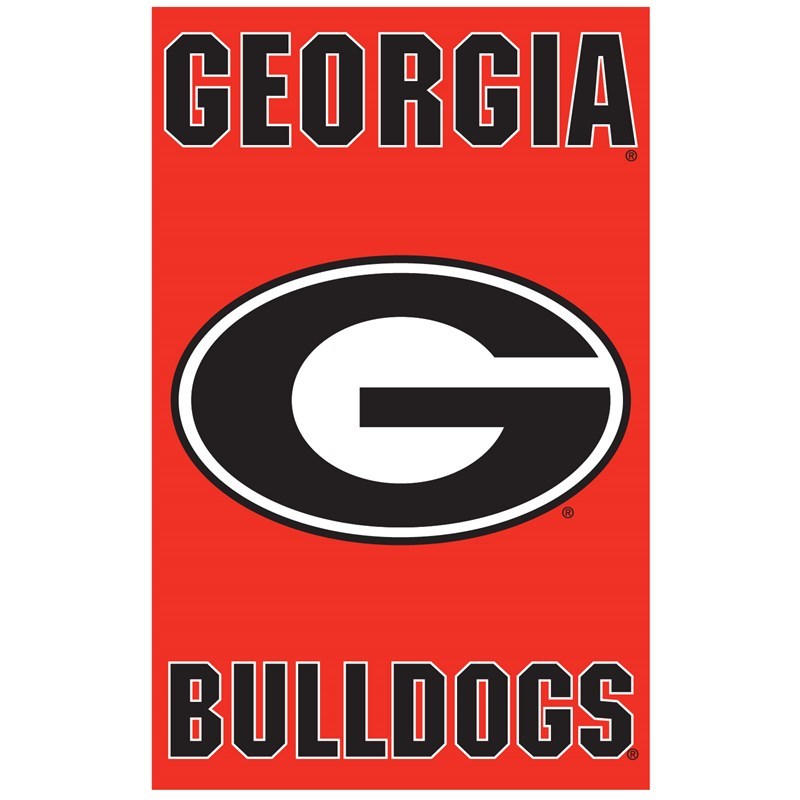 Georgia Bulldogs   Banner Flag for the 2015 Costume season.