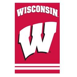 Wisconsin Badgers - Banner Flag
