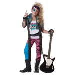 80's Glam Rocker Child Costume