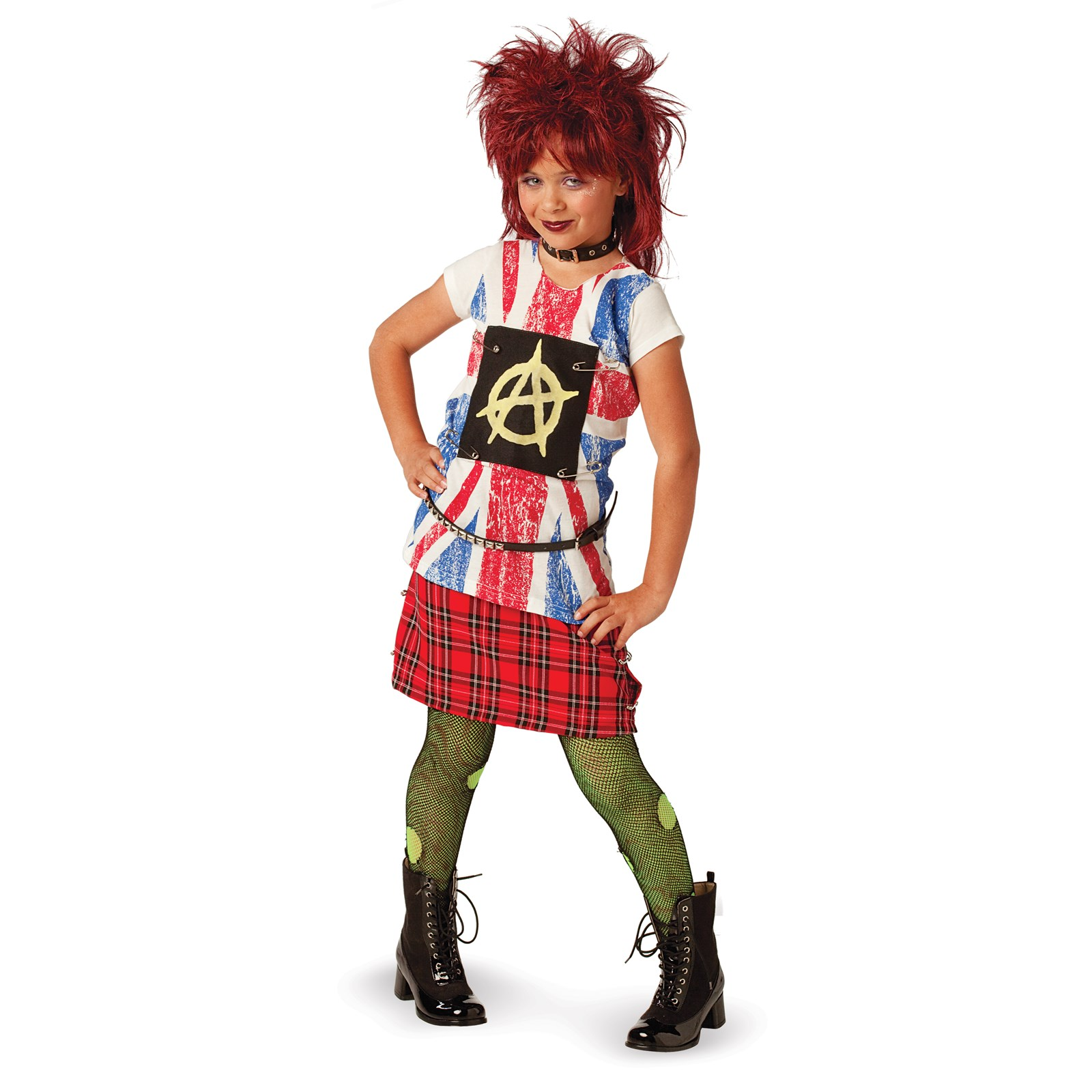 80's Punk Child Costume   BuyCostumes.com