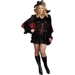 Bella Vamp Adult Plus Costume