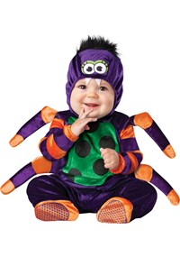 Click Here to buy Itsy Bitsy Spider Baby & Toddler Costume from BuyCostumes