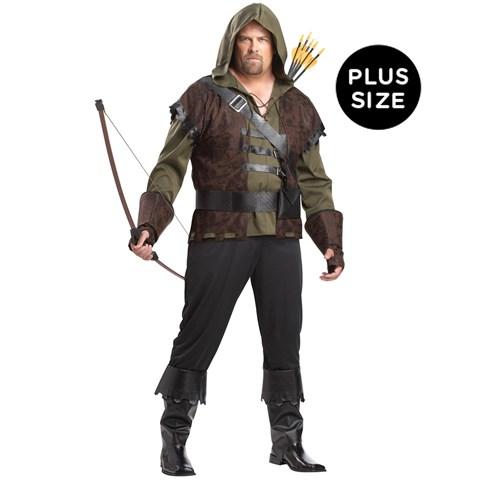 Robin Hood Adult Plus Costume