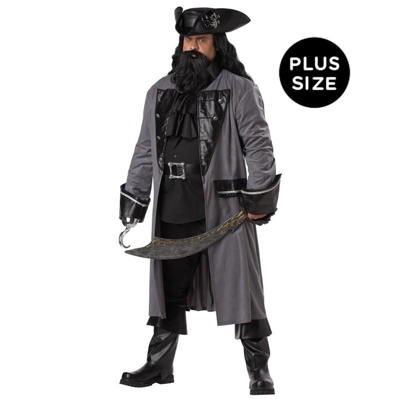 Blackbeard the Pirate Adult Plus Costume for the 2015 Costume season.