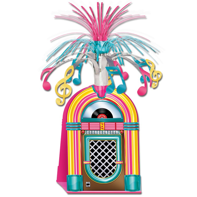1950s Jukebox Centerpiece for the 2015 Costume season.
