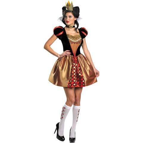 Alice In Wonderland Movie - Sassy Red Queen Adult Costume
