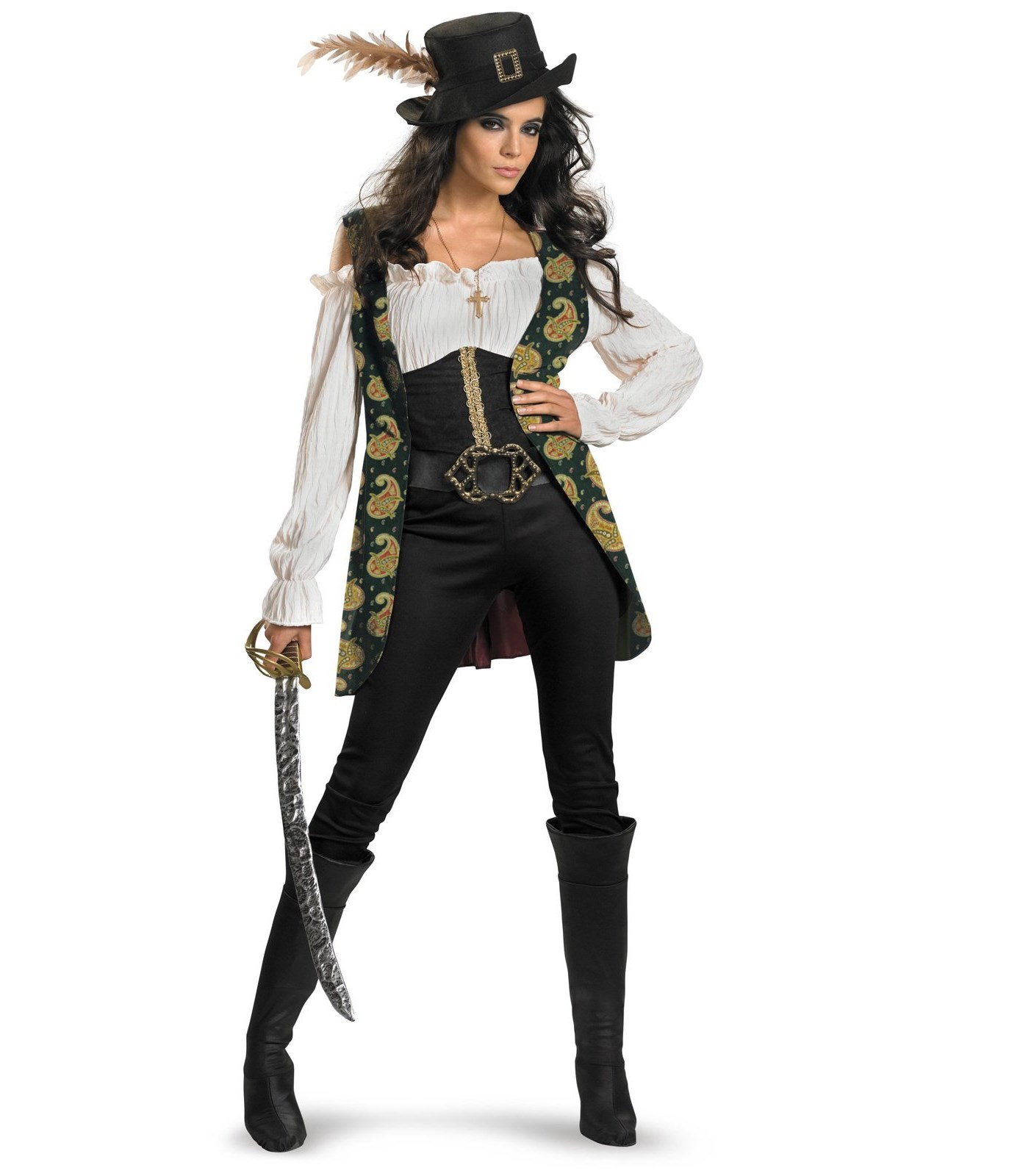 Pirates Of The Caribbean - Angelica Deluxe Adult Costume
