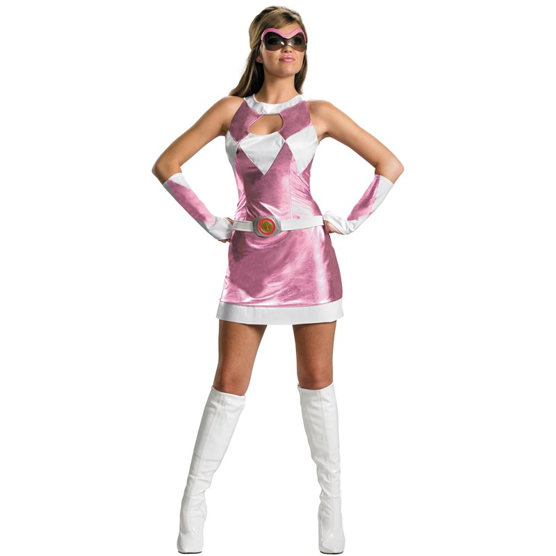 Mighty Morphin Power Rangers   Pink Ranger Sassy Deluxe Adult Costume for the 2015 Costume season.