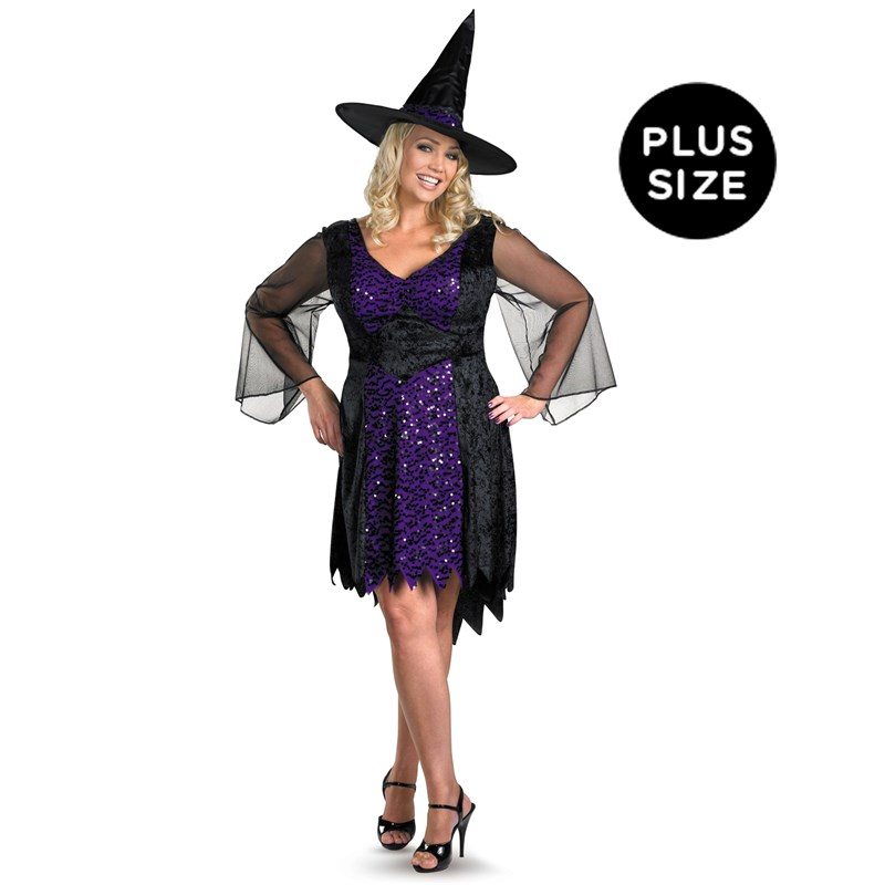 Brilliantly Bewitched Adult Plus Costume for the 2015 Costume season.