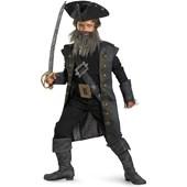 Pirates of the Caribbean 4 On Stranger Tides - Blackbeard Child Costume