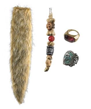 Pirates of the Caribbean 4 On Stranger Tides - Captain Jack Sparrow Accessory Kit Child