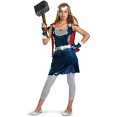 Thor Movie - Thor Girl Tween Costume