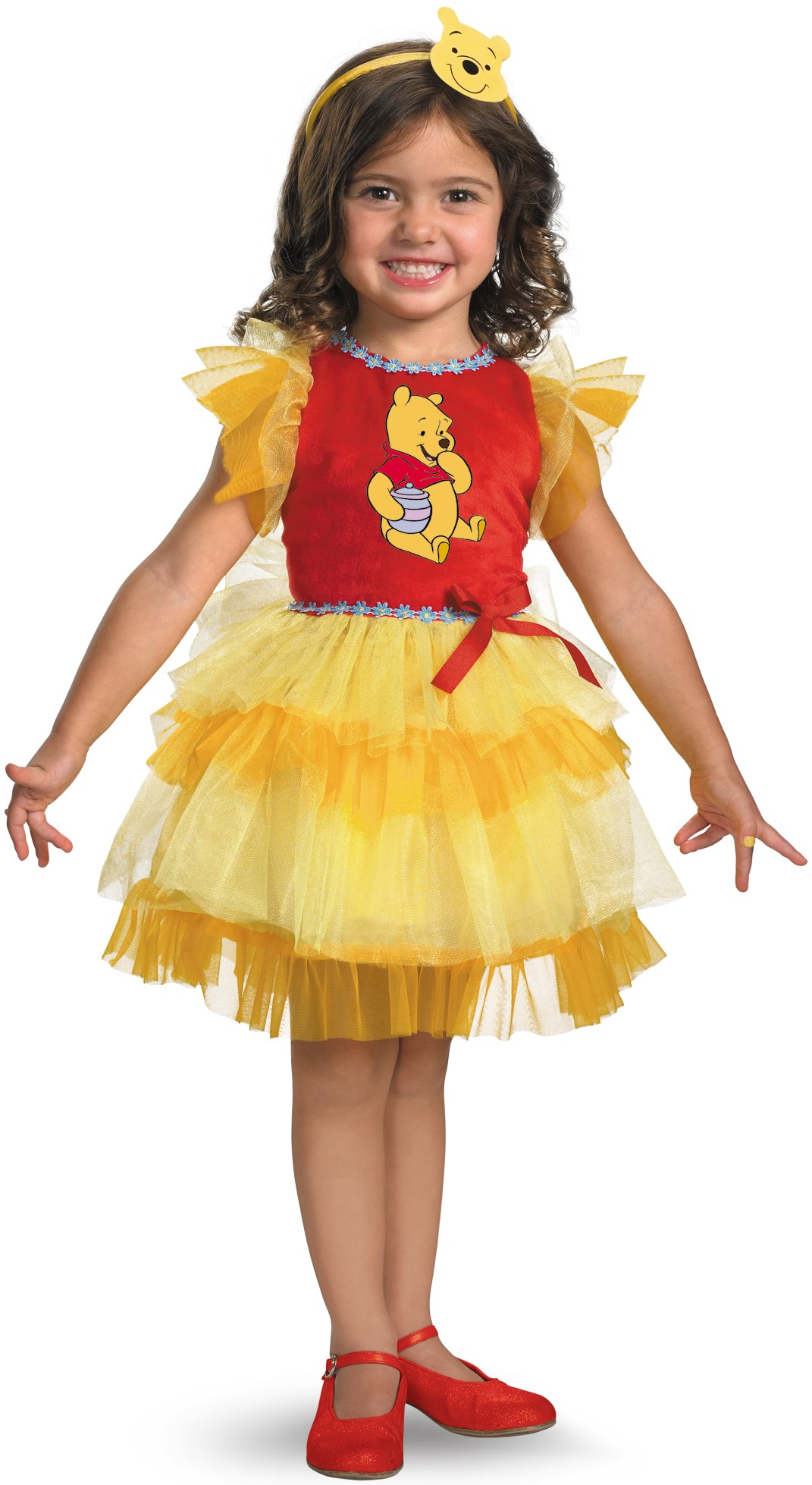 Winnie the Pooh - Frilly Winnie the Pooh Toddler / Child Costume