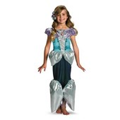 Ariel Lame Deluxe Toddler / Child Costume